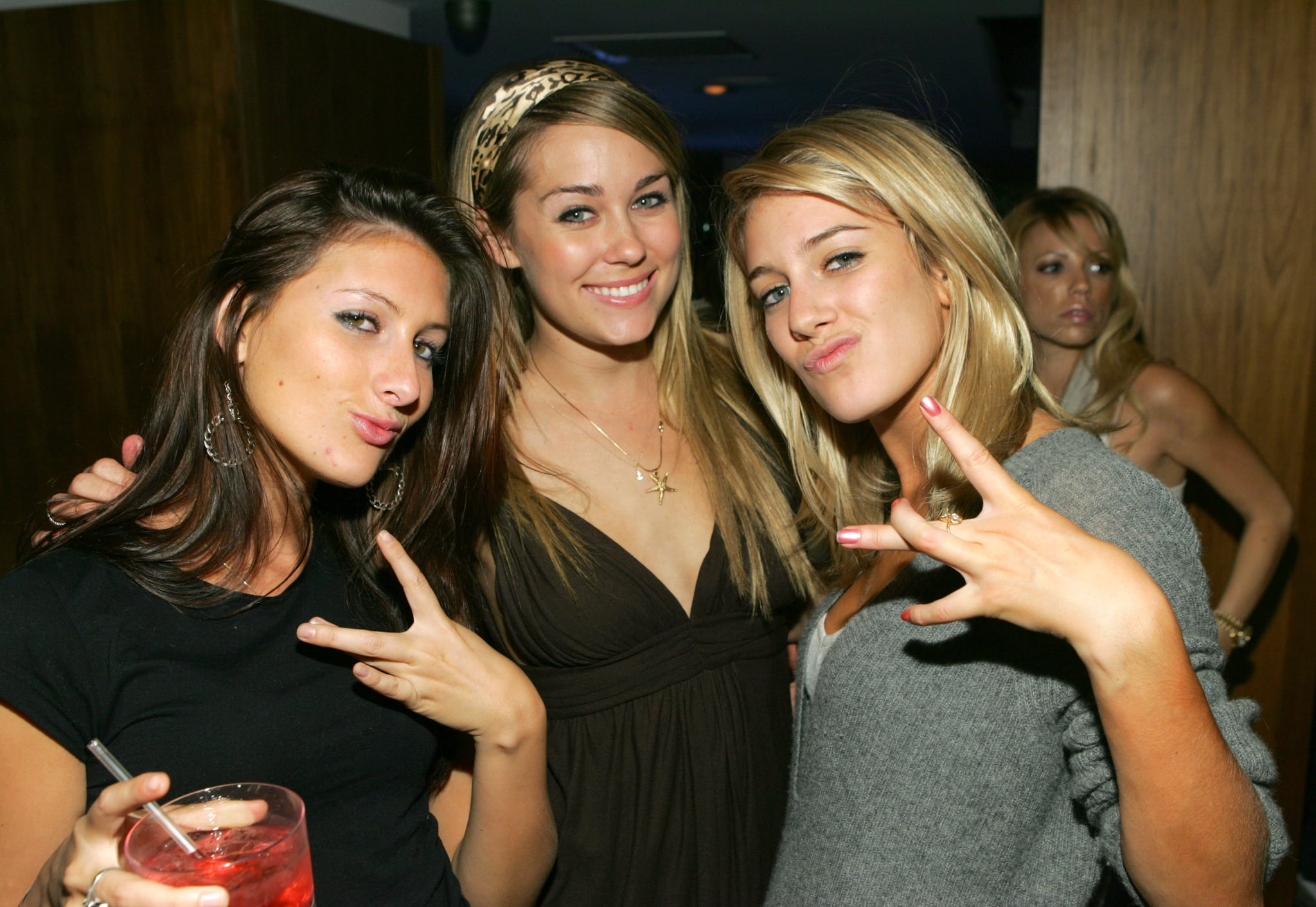Jen Bunney and Heidi Montag had fun with Lauren Conrad in LA in October 2006.