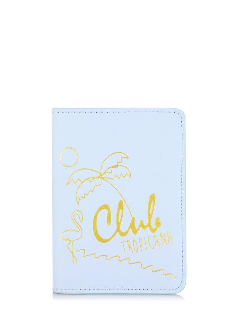 Skinny Dip Club Tropicana Passport Holder ($20)