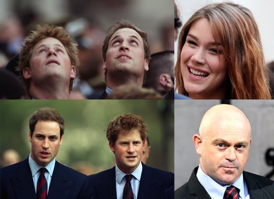 Prince William and Prince Harry Attend The City Salute Sunset Pageant
