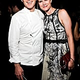 Bobby Flay and Stephanie March