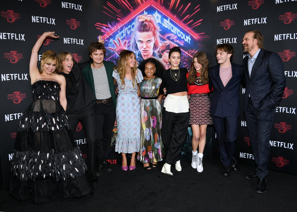 The Stranger Things Cast Reunited at an NYC Screening, and Wow, We Love This Crew