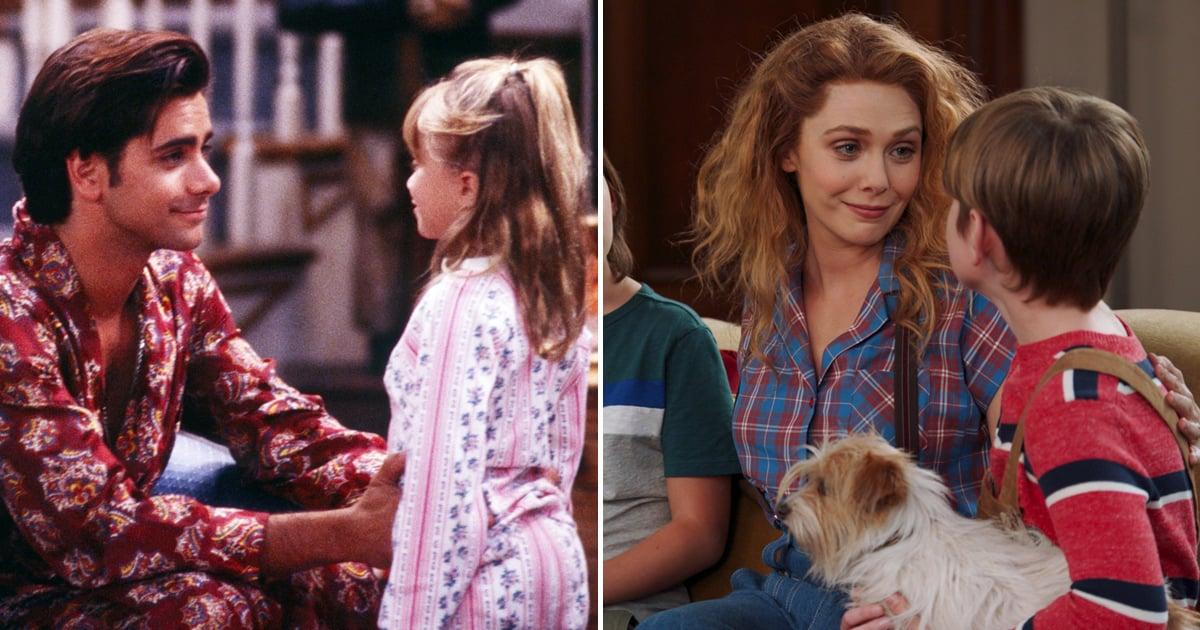 John Stamos Celebrates Elizabeth Olsen's WandaVision Finale With Adorable Full House Throwback