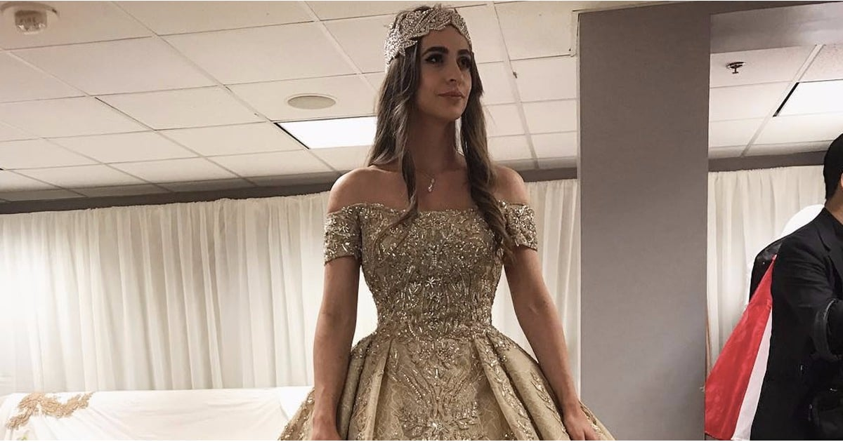 lolita osmanovas zuhair murad wedding dress popsugar