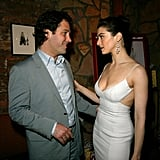 Paul Rudd caught up with costar Rachel Weisz at a May 2003 party for The Shape of Things in NYC.