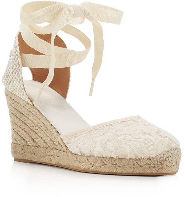 00b5ccaf6e9 Soludos Lace Ankle-Tie Espadrille Wedge Sandals ( 95)