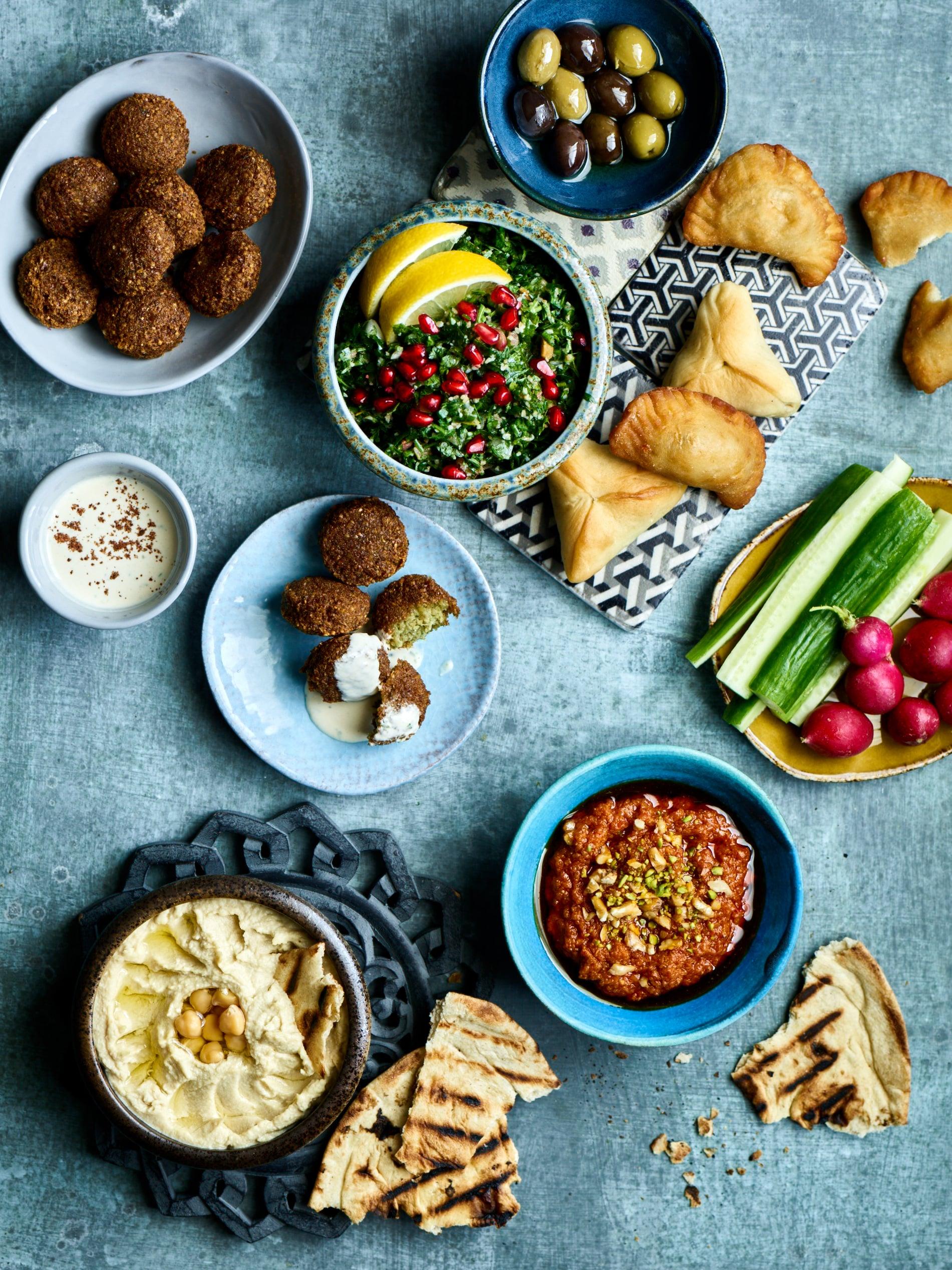 Learn cook arabic food
