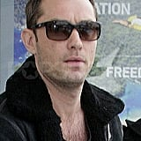 Pictures of Jude Law Arriving in London to See Sienna Miller