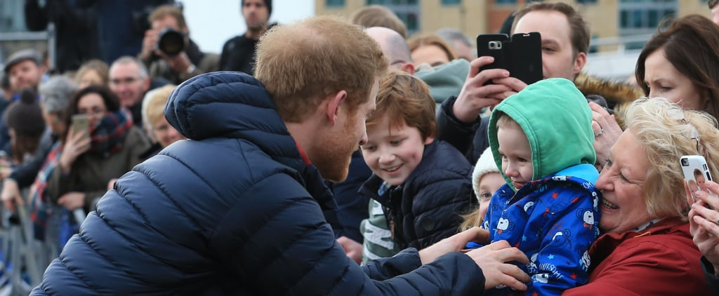 Prince Harry Takes a Break From His Royal Duties to Delight a Young Fan