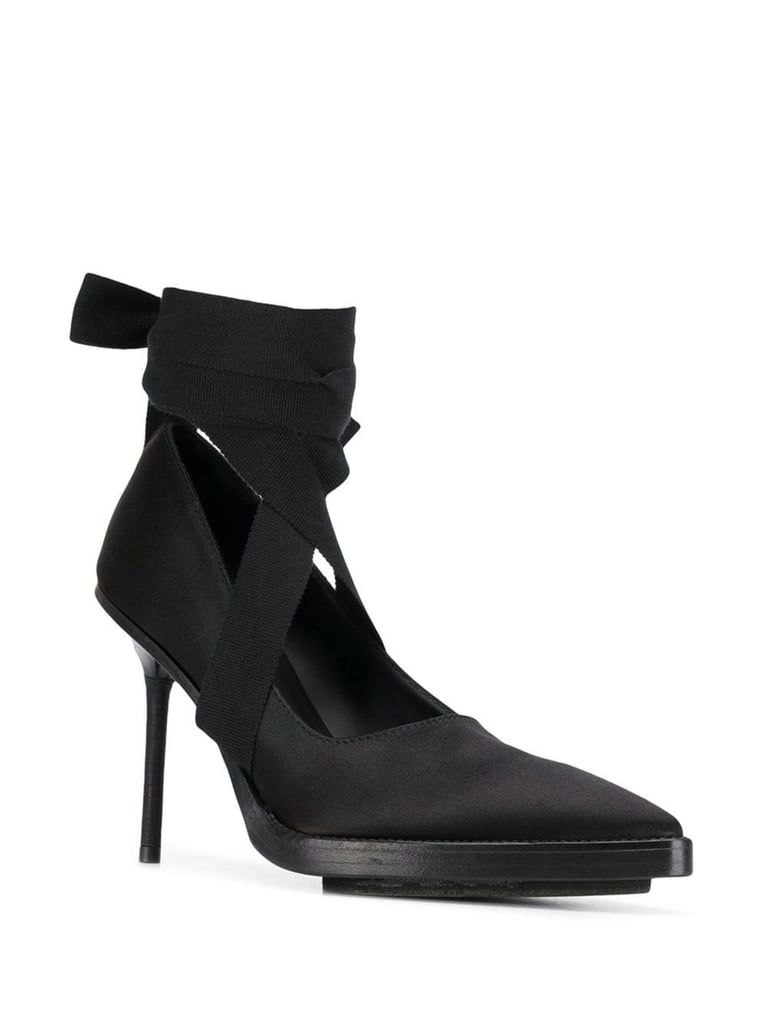 Ann Demeulemeester Ribbon Pointed Pumps
