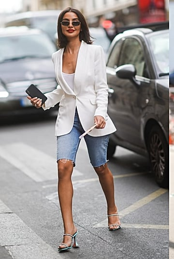 How to Wear a Blazer and Shorts