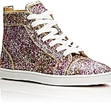 Christian Louboutin Bip Bip High-Top Sneakers-Red ($895)