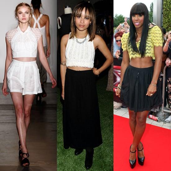 Celebrity Style Trends: Crop Tops 2011-06-01 11:49:38