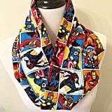 Marvel Avengers Infinity Scarf, Superhero, Comic Book, Flannel ($20)