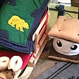 Because every kid needs a s'mores pillow!