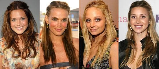 Trend Alert: Half-Up Hair With a Twist