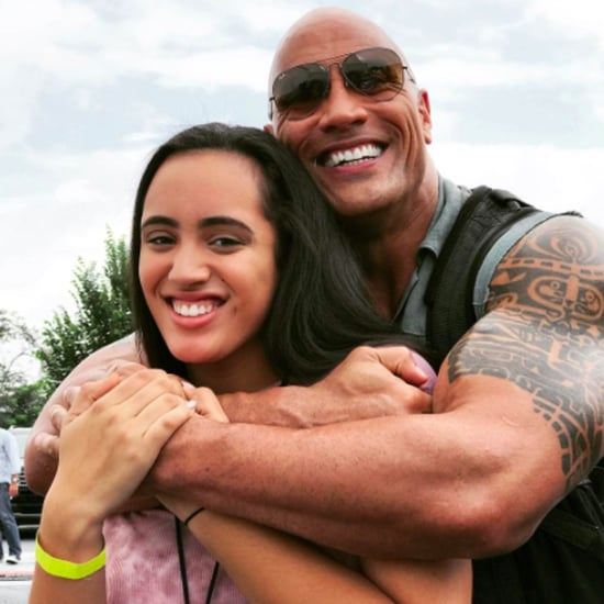 Dwayne Johnson Father's Day Instagram Post 2017