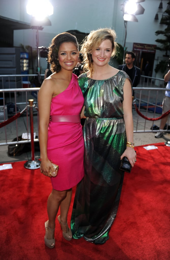 Gugu Mbatha-Raw and Grace Gummer
