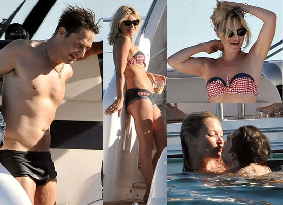 Photos of Kate Moss in Bikini on Holiday in France With Shirtless Jamie Hince