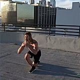 Low Cursty Back Lunge