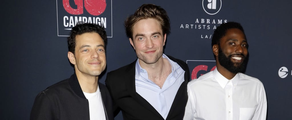 Robert Pattinson Rami Malek Go Gala Photo