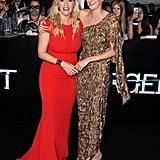 With Shailene Woodley
