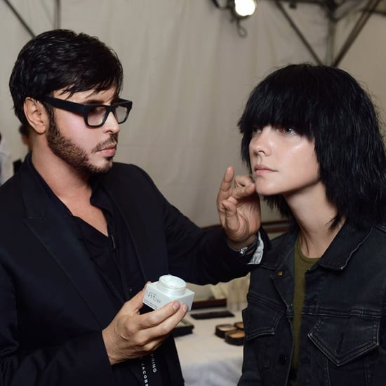 Francois Nars Interview at Marc Jacobs Runway Show Fall 2011 2011-02-14 19:08:29