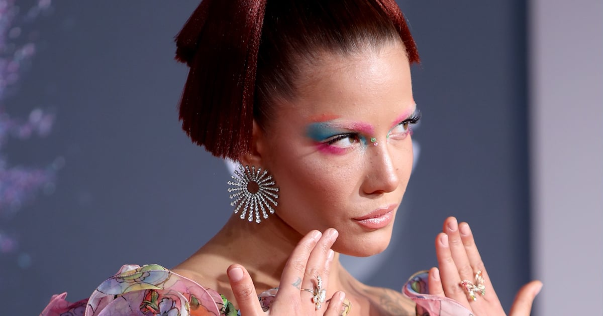 Halsey's Face Tells a Gothic Love Story in New IICHLIWP Behind-the-Scenes Beauty Photos.jpg