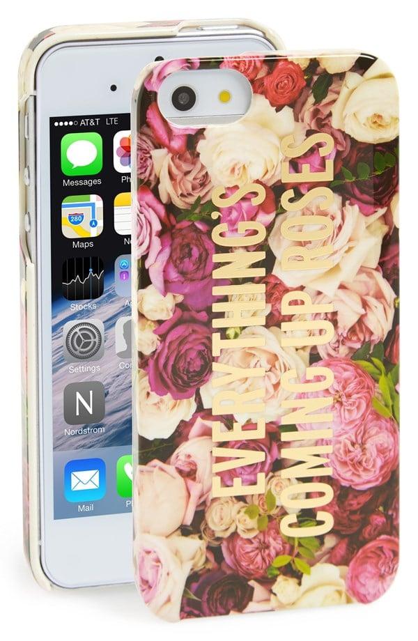 Kate Spade Everything's Coming Up Roses iPhone 5 Case