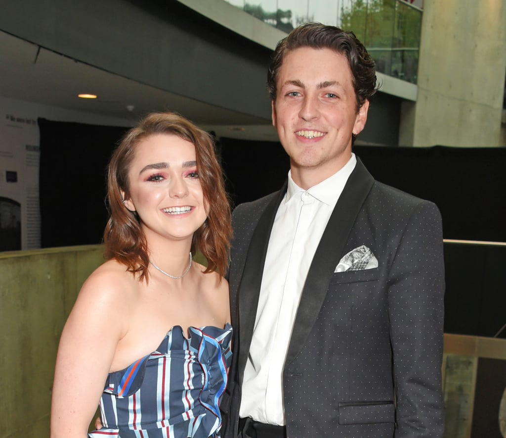 Maisie Williams and Boyfriend at the Q Awards 2017