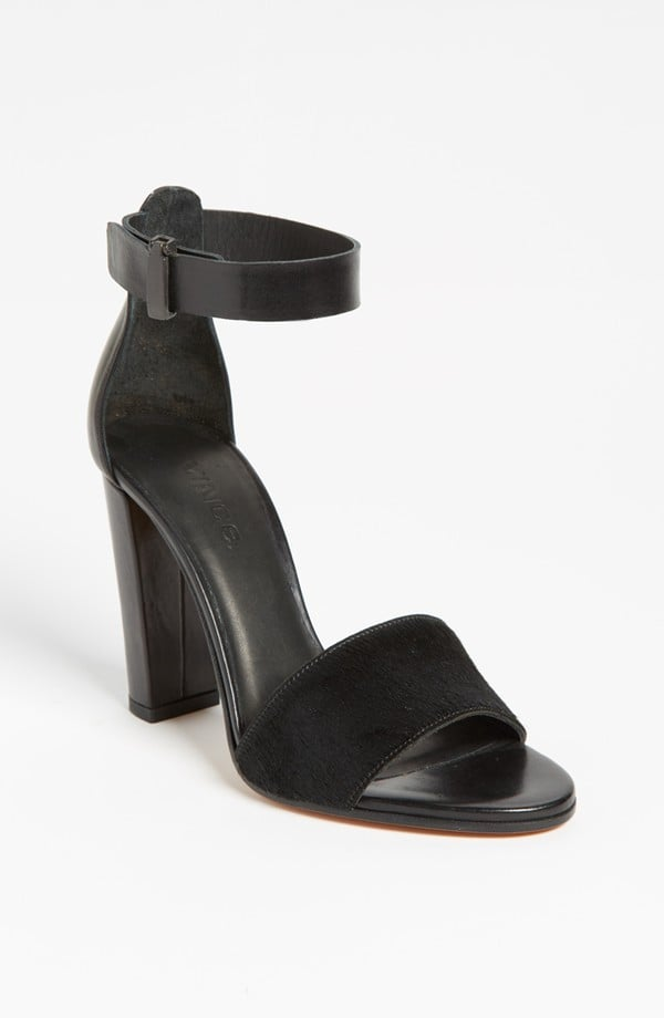 With a more substantial heel and a thicker strap, these Vince Serena sandals ($395) would be a perfect day-to-night option. Well worth the investment.