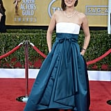 Marion Cotillard Ups the Volume at the SAG Awards