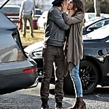 Nikki Reed Engagement Ring Pictures With Ian Somerhalder