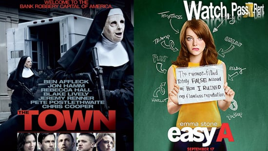 The Town Movie Review and Easy A Movie Review
