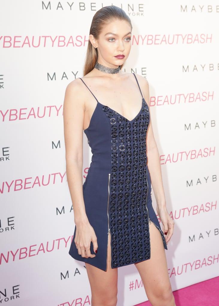 Gigi Hadid David Koma Dress at Maybelline Event June 2016