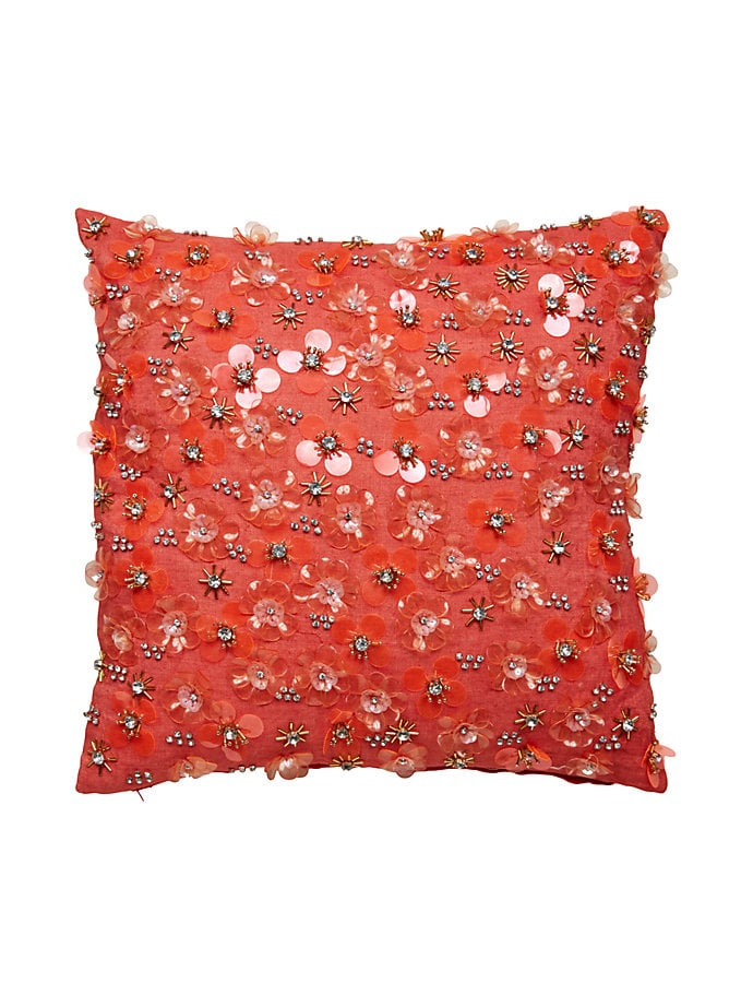 Beaded Square Pillow ($169)