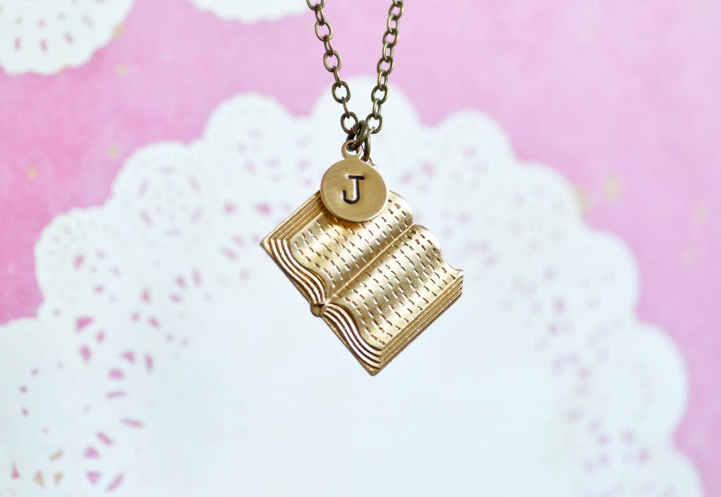 Personalized Book Necklace ($24)
