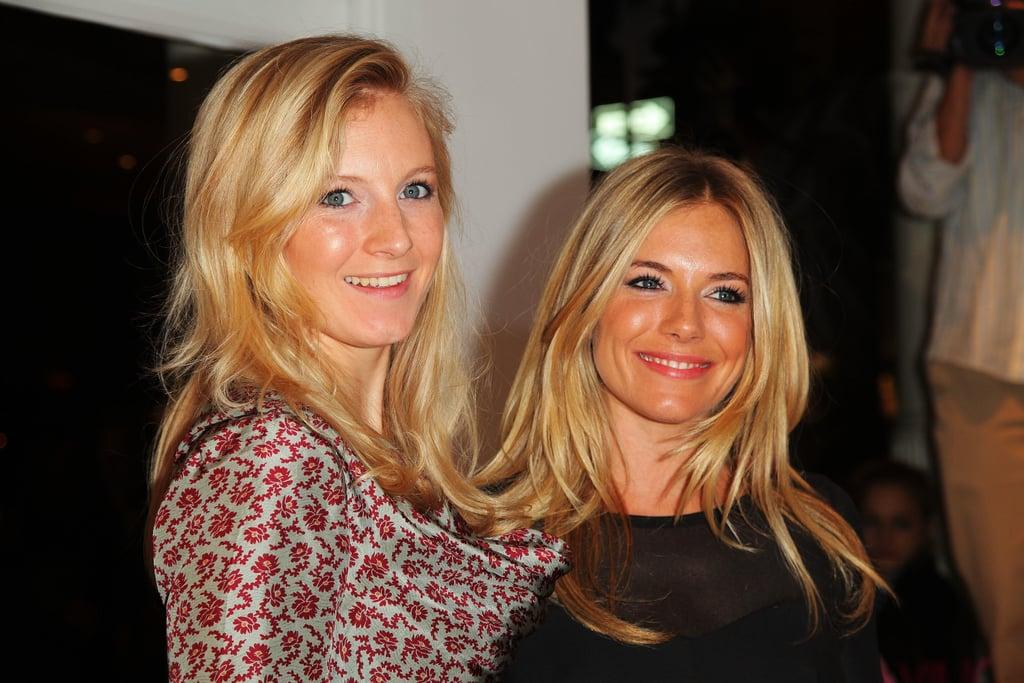 Savannah and Sienna Miller at Intermix
