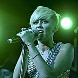 Miley Cyrus performed at the gala.