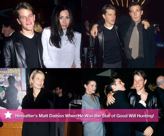 Flashback: Matt Damon and Ben Affleck at the 1997 Premiere of Good Will Hunting