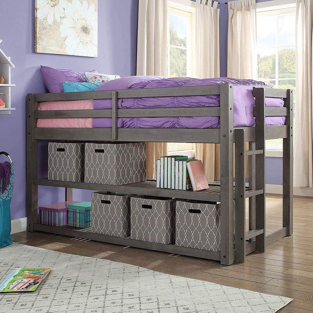 Better Homes And Gardens Loft Storage Bed Best Dorm Furniture
