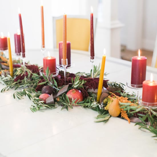 Colorful Thanksgiving Table Decor
