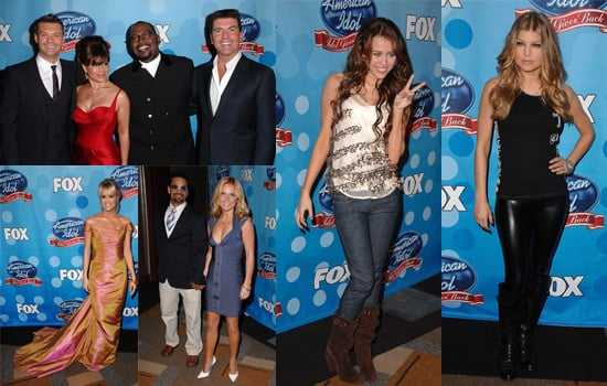 Pictures of Carrie Underwood, Fergie, Miley Cyrus and Geri Halliwell Arriving at Idol Gives Back