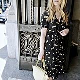 The Dress: POPSUGAR Printed Midi Dress