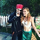 Pirate and Mermaid