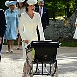 Princess Charlotte's Christening in 2015