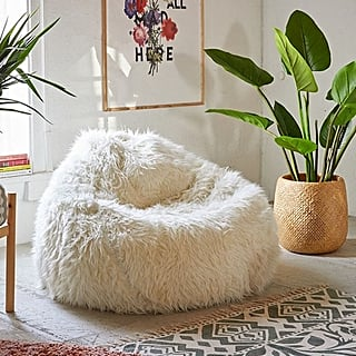 Furry Bean Bags at Urban Outfitters