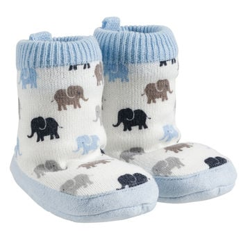 Carter's Infant Elephant Slipper Socks