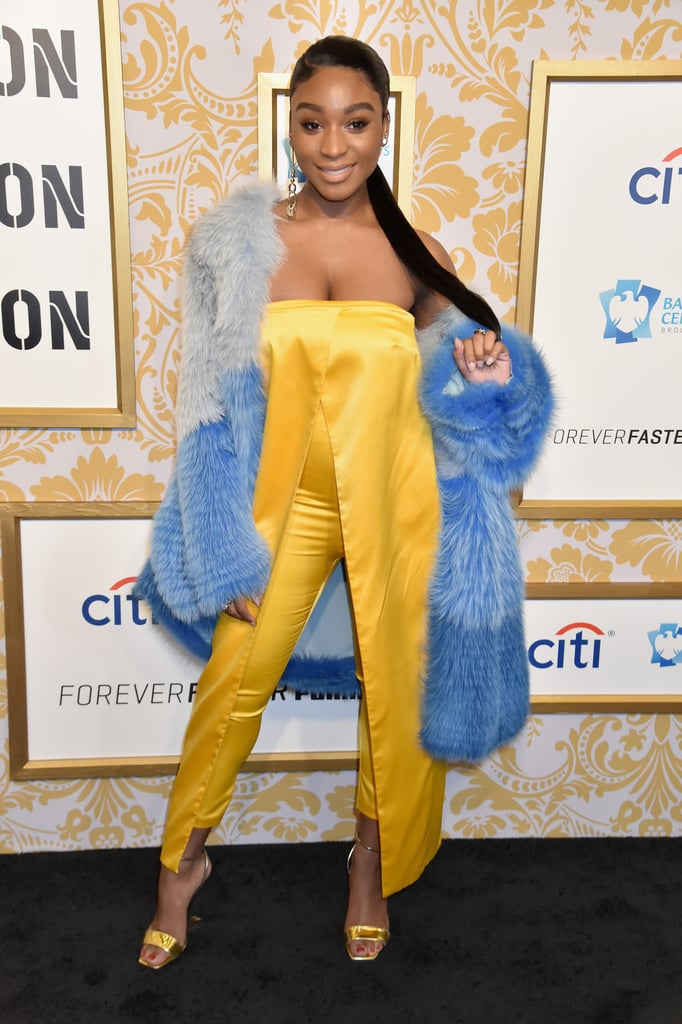 Normani Attends the 2018 Roc Nation Pre-Grammy Brunch