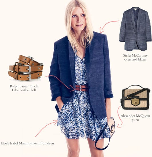 Gwyneth Paltrow Styles Up a Storm for Net-a-Porter