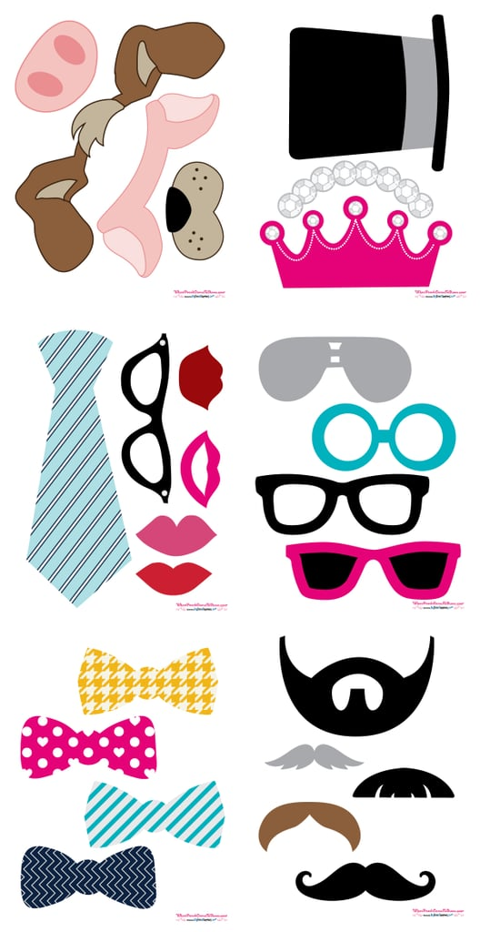 graphic about Wedding Photo Booth Props Printable identify No cost Marriage Image-Booth Printables POPSUGAR Sensible Residing